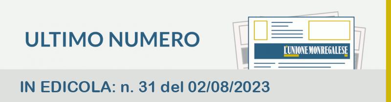 IN EDICOLA: n. 36 del 23/09/2020