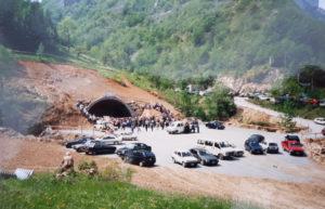Traforo Armo-Cantarana 1992