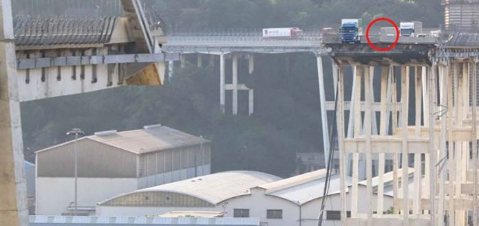 famiglia di Mondovì ponte Genova