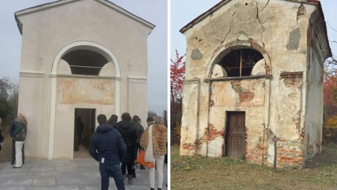 Vicoforte: la chiesetta San Rocco riapre