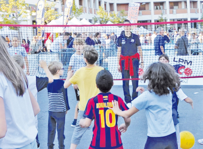 Sport in piazza Mondovì