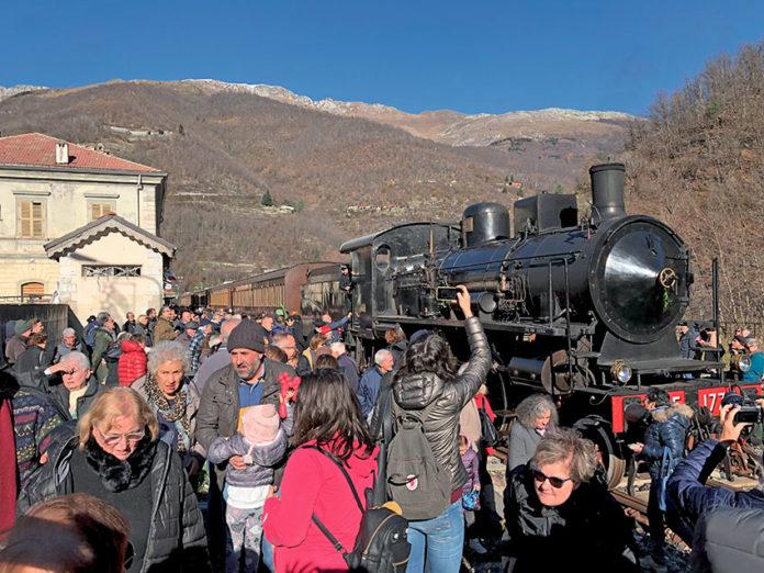 Riecco il treno storico Ceva-Ormea