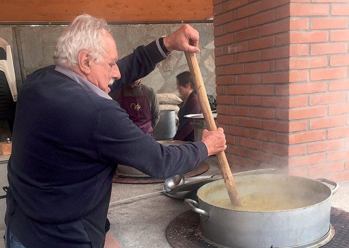 Domenica Nucetto celebra il cece