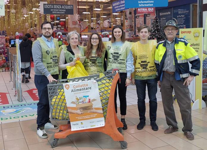Colletta alimentare: grazie a volontari e donatori