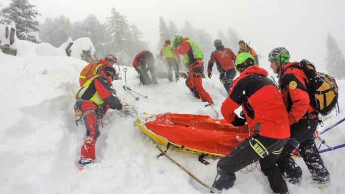 Artesina gare Soccorso Alpino