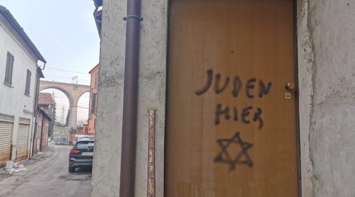 mondovì scritte antisemite lidia rolfi