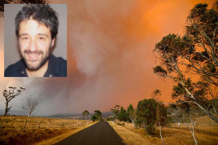 L'Australia che brucia raccontata dal monregalese Luca Casagrande
