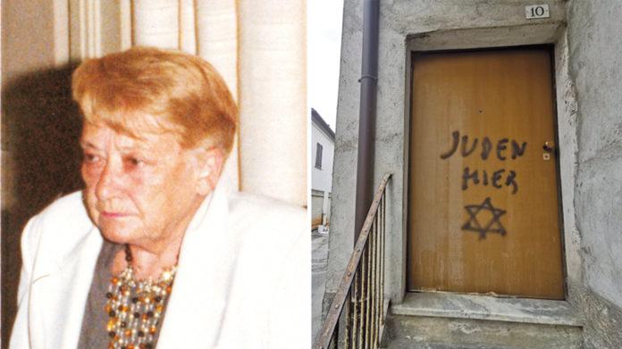 scritte antisemite mondovì reazioni