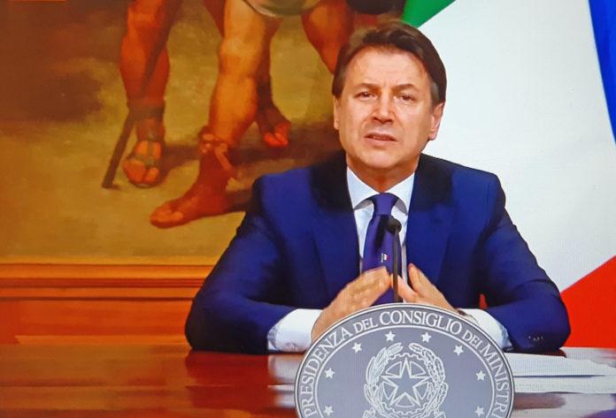 Giuseppe Conte DPCM 4 maggio