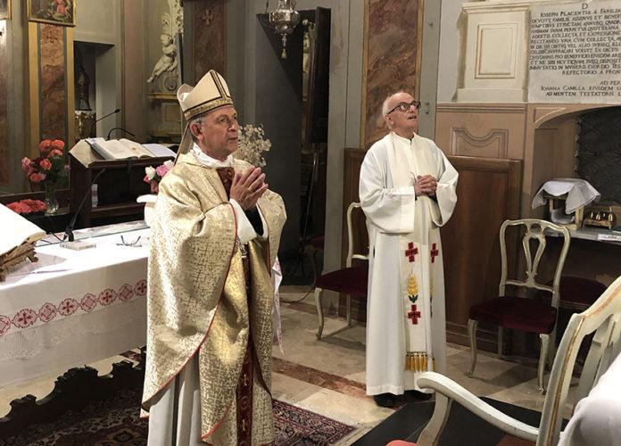 Alla Mellea la preghiera per i 114 defunti Covid