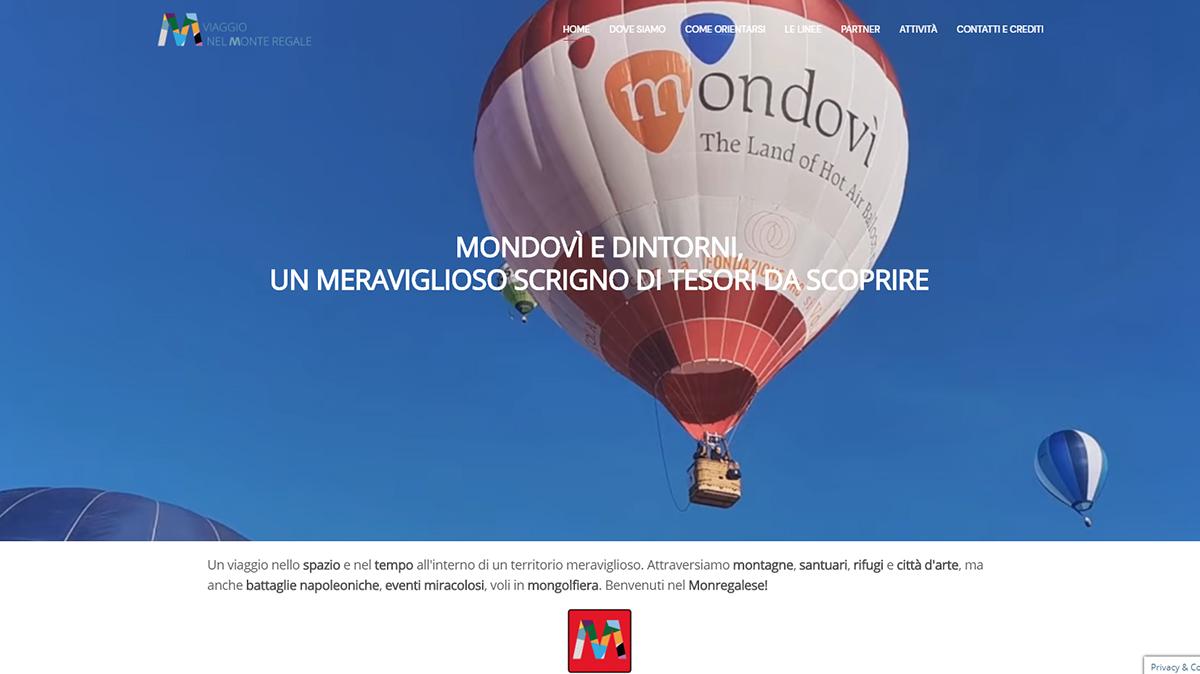"""sito web """"Viaggio nel Monte Regale"""