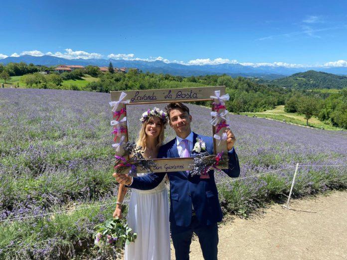 Nuovo trend: sposarsi in mezzo alla lavanda a Sale San Giovanni