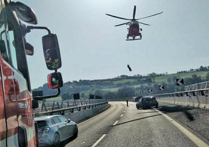Incidente A6 Mondovì