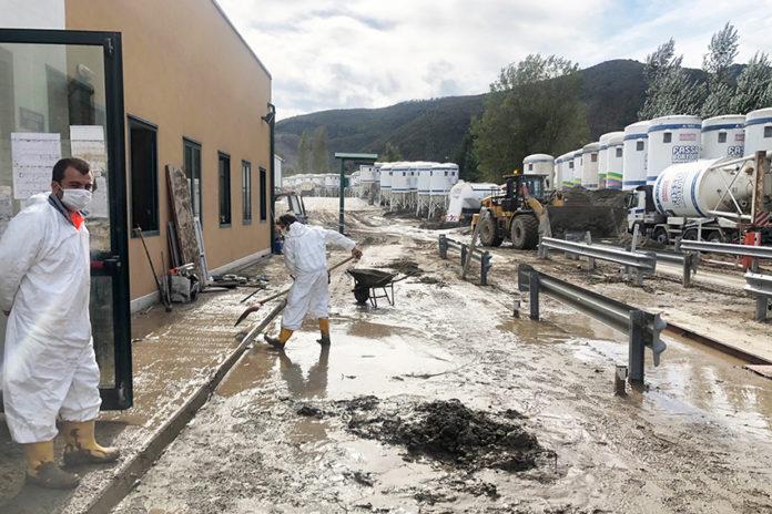 Fassa Bortolo di Bagnasco: stabilimento alluvionato, 40 dipendenti in cassa integrazione