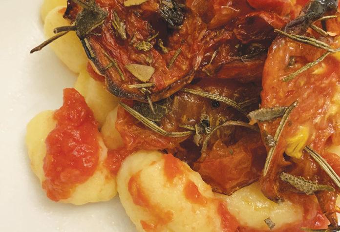 Gnocchi ai pomodori caramellati