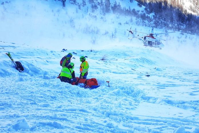 Intervento del Soccorso Alpino (foto di repertorio)
