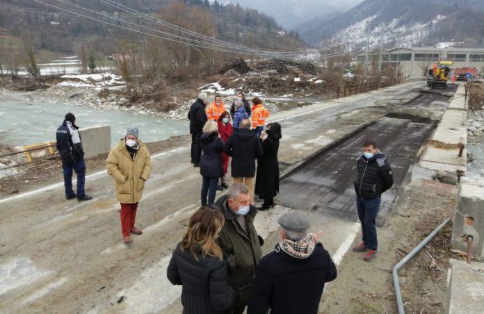 Garessio: partita la demolizione del secondo ponte