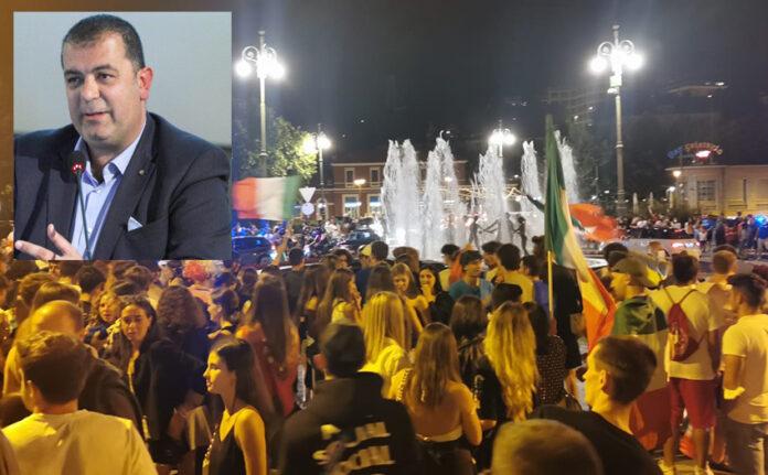 «Ora non vogliamo essere noi a pagare il prezzo per le feste scriteriate alla vittoria dell'Italia»