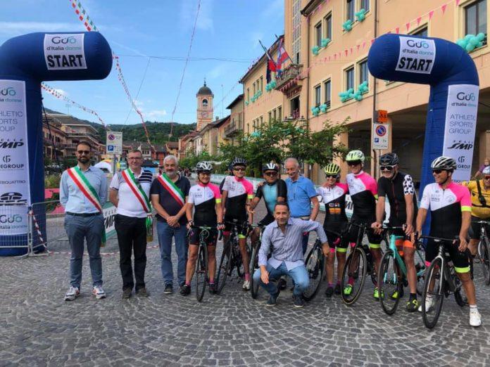Io rispetto il ciclista: Paola Gianotti a Prato Nevoso sulle strade del Giro Donne